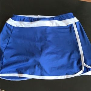 BCG blue athletic skort medium